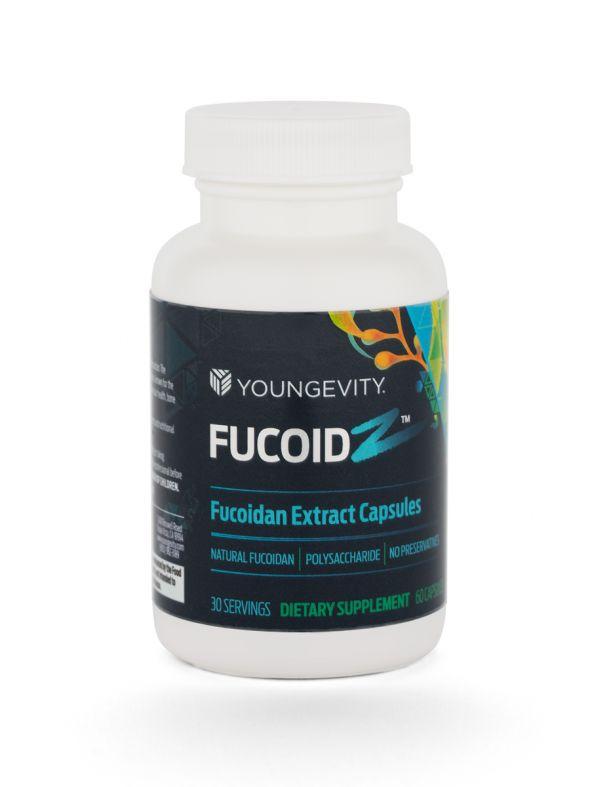 FucoidZ - ZRadical™ Fucoidan Extract Capsules [QTY: 60]