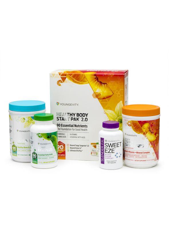 Healthy Body Blood Sugar Pak™ 2.0