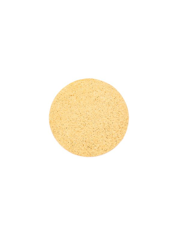 Large Gold Diamond Dust Coin